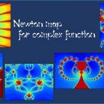 ニュートン写像に現れる綺麗な画像