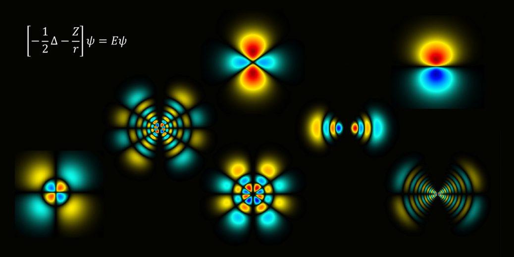 水素様原子の波動関数のコード