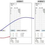 割り勘のお金のやりとりを表示する計算ツール